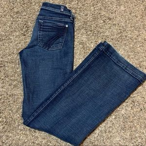 7 For All Mankind Dojo Flare Jeans 26